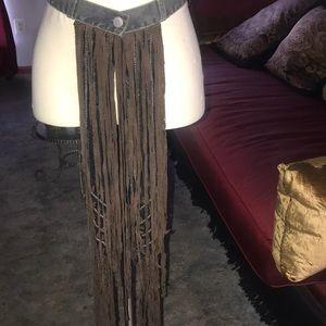 Authentic vintage Fendi Waist Belt